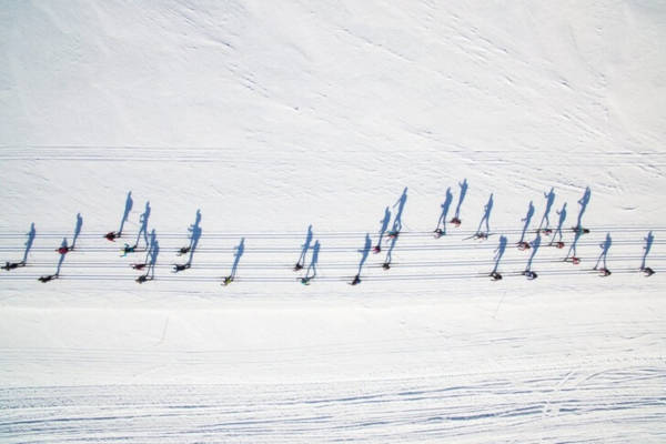 "13. ""What Do You See Cross Country Skiers Or Notes"