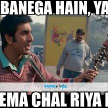 Hero banega hain, cinema chaal riya hai!