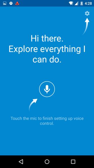 Moto x android lollipop update us screenshots