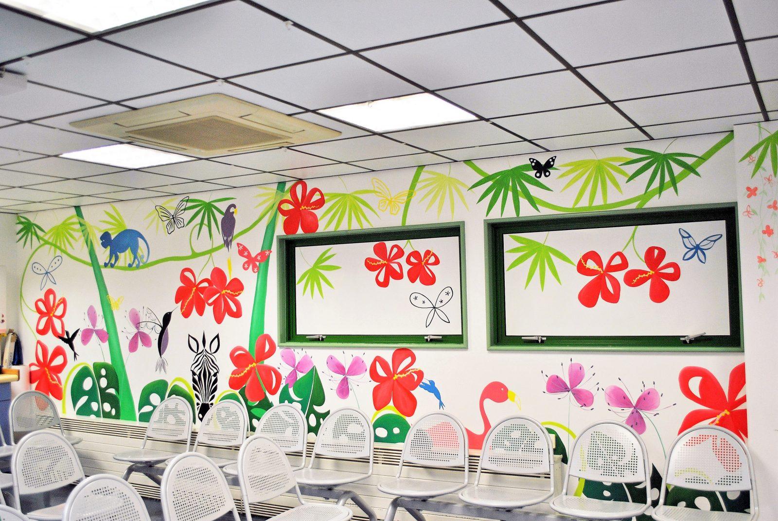 Children's Mural For Hospital