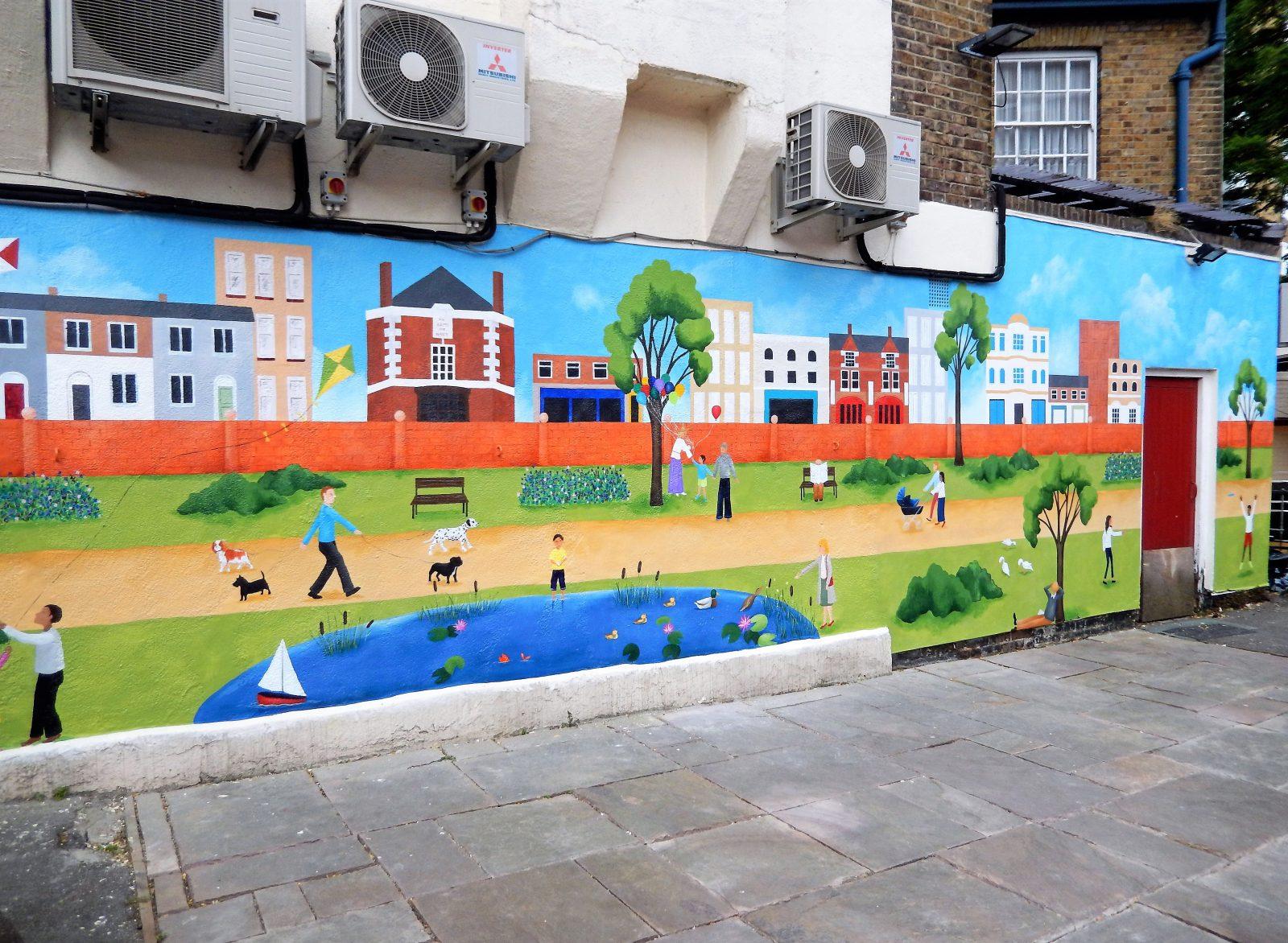 Pub Mural