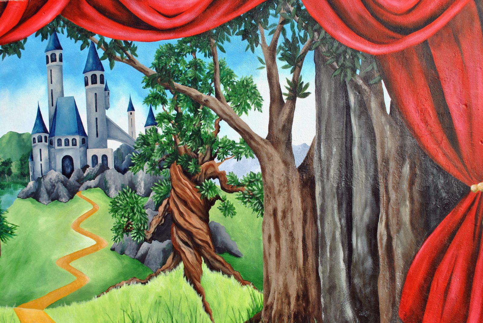 Exterior School Mural