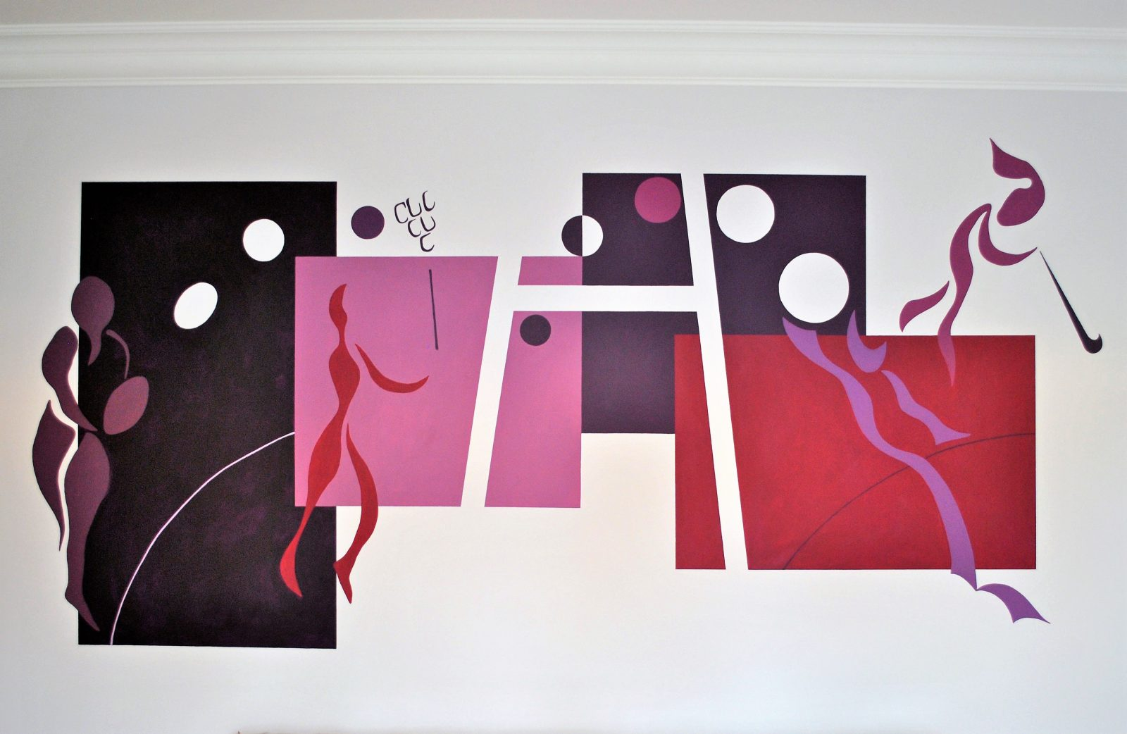 Contemporary Sports Mural