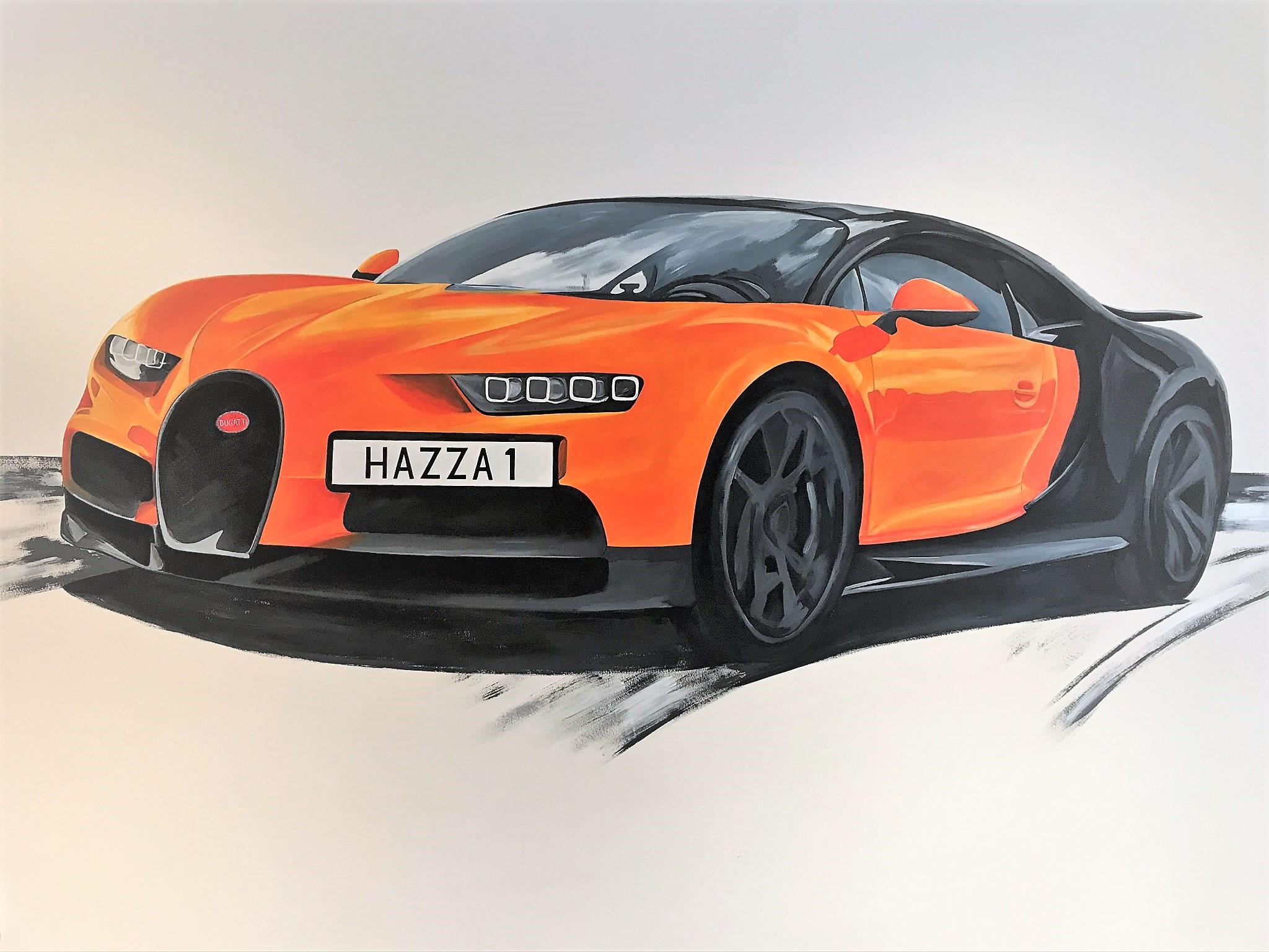 Sports Car Mural