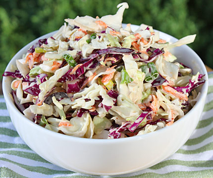 Inspired2cook.com » Sweet and Spicy Coleslaw