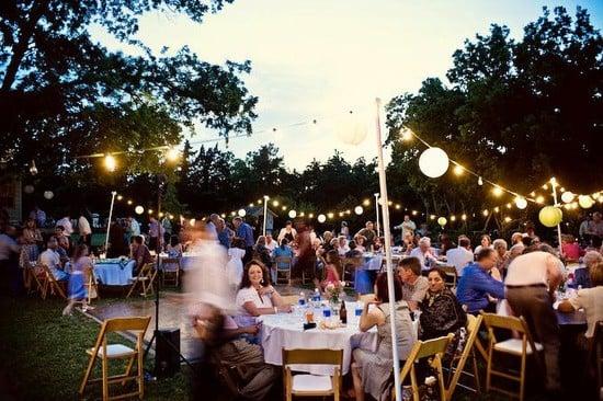 Outdoor Backyard Wedding Reception Ideas