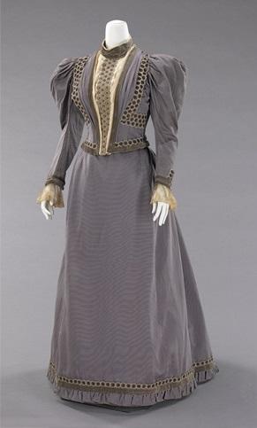 Blue dress c. 1893