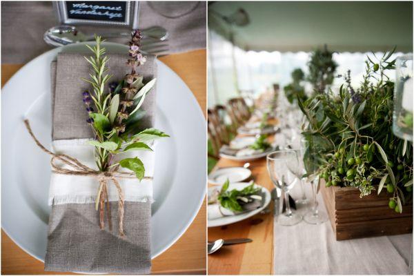 Tropical Garden Wedding Reception Decor