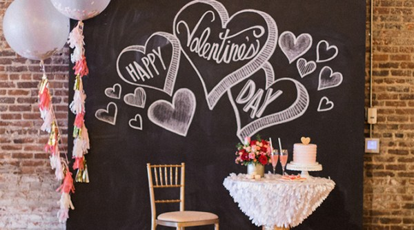 Valentine's Day Office Party - Inspired By This