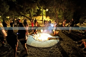Camp Spin off Cool campsite fire with DJ Tina T