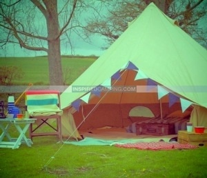 Glamping in yurts bell tents and tipis