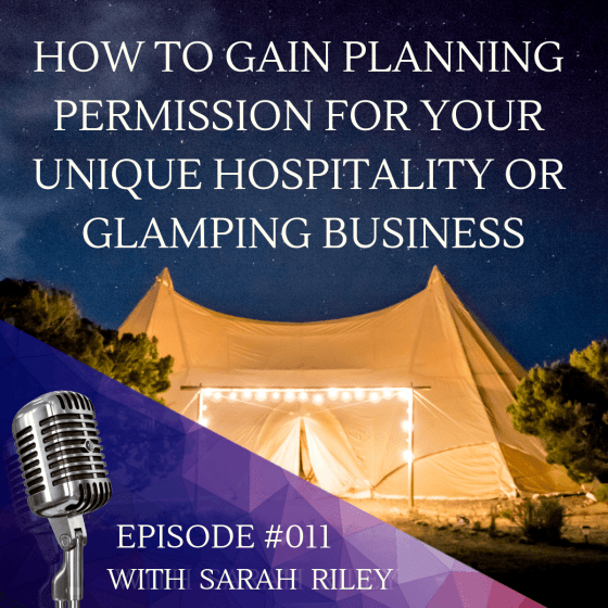 planning permission glamping business