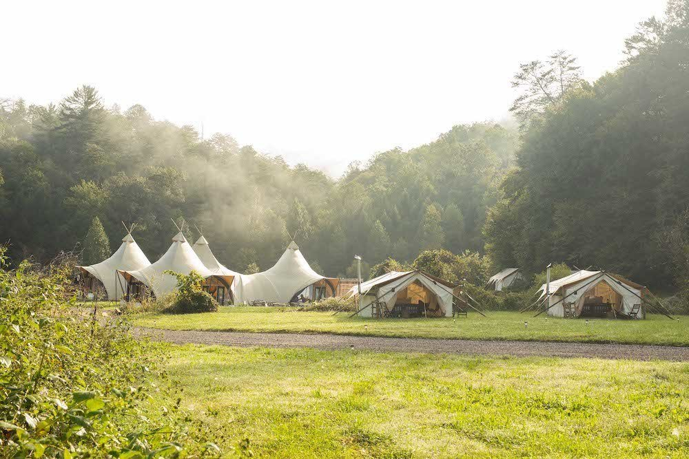 Under Canvas glamping business luxury camping Sarah Dusek
