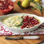 baked ricotta with pomegranate_blog_1