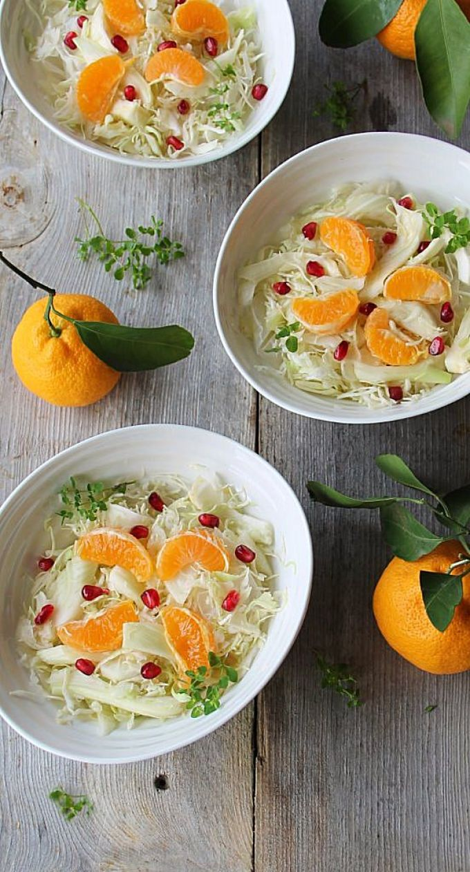 winter white salad with mandarin and pomegranate_2