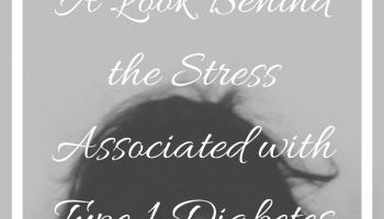 Stress + Type 1 Diabetes Instagram