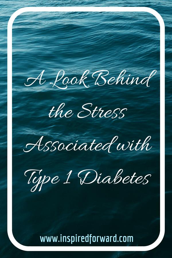 Stress + Type 1 Diabetes Pinterest v2