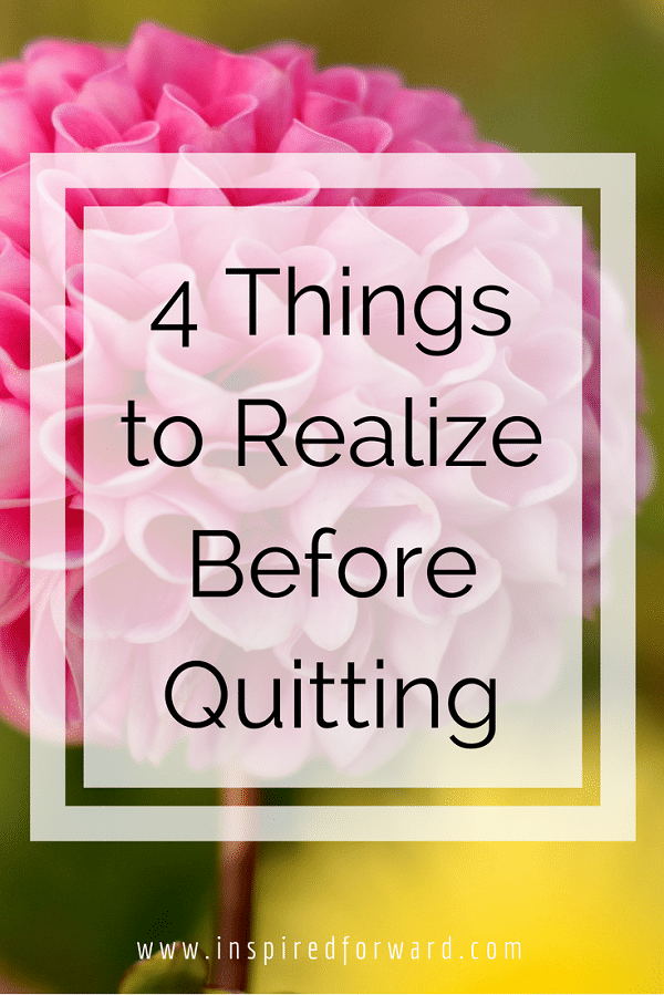 realize before quitting pinterest