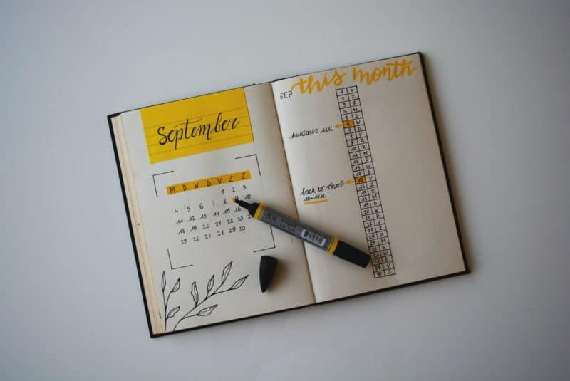 bullet journaling top image