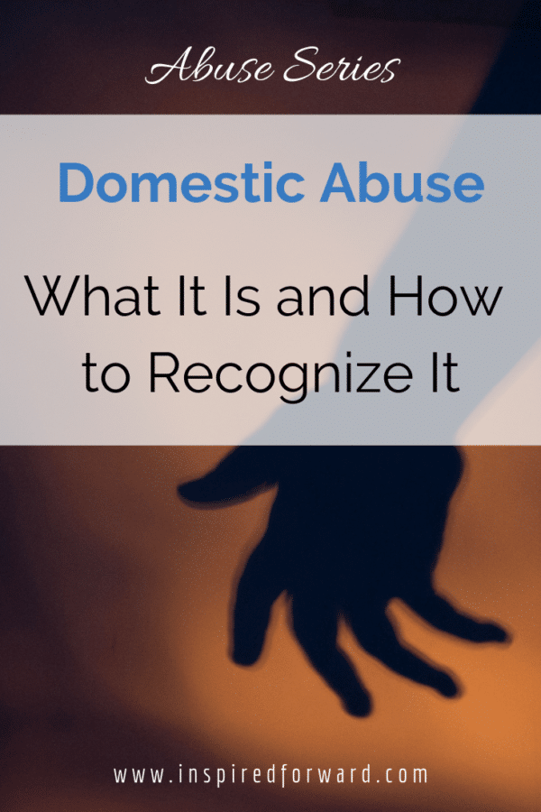 There are several types of abuse. Some are more common and obvious than others. No matter what, domestic abuse is not your fault, and you can get out.