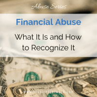 How to Recognize Financial Abuse