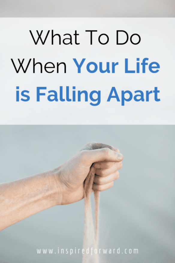 What do you do when your life is falling apart around you? It's easy to curl up in a ball to cry, but what you really need to do is take control.