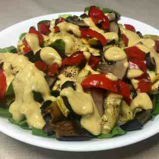 Grilled Veggie Summer Salad
