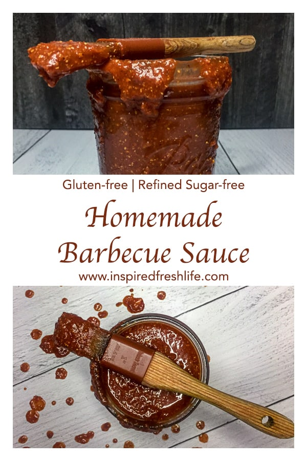 Homemade Barbecue Sauce Pinterest image