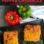 Unstuffed Pepper Casserole Pinterest image