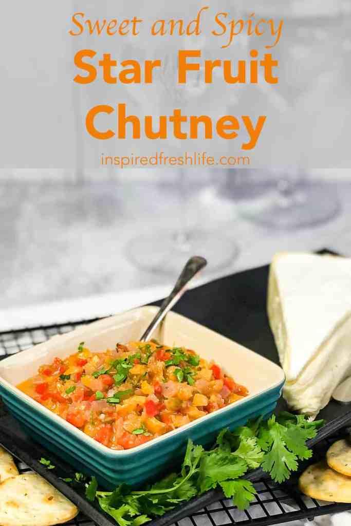 Pinterest image for Star Fruit Chutney