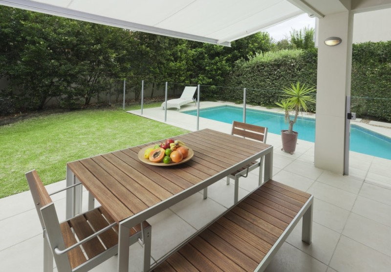 Outdoor Dining Areas and Outdoor Alfresco Ideas on Backyard Dining Area Ideas id=14800