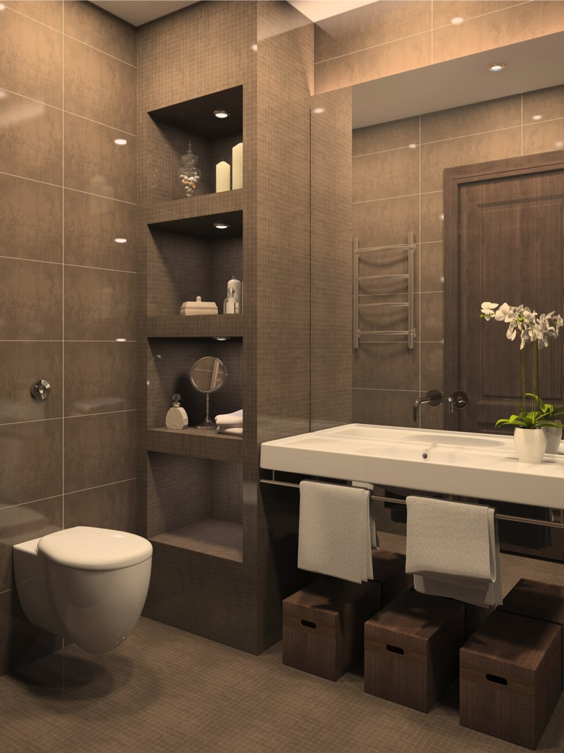 49 Relaxing Bathroom Design and Cool Bathroom Ideas on Modern Small Bathroom  id=17227