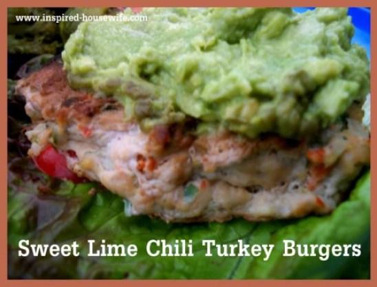 Sweet Chili Lime Turkey Burgers