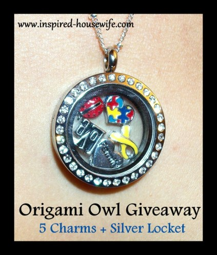 Personalized Jewelry By Origami Owl Giveaway Inspired Housewife