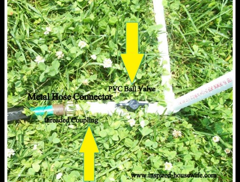 DIY PVC Pipe Sprinkler Tutorial