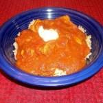 Tomato-Coconut Chicken Curry