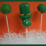 Happy St. Patrick's Day Leprechaun Cake Pops