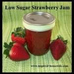 Low Sugar Strawberry Jam