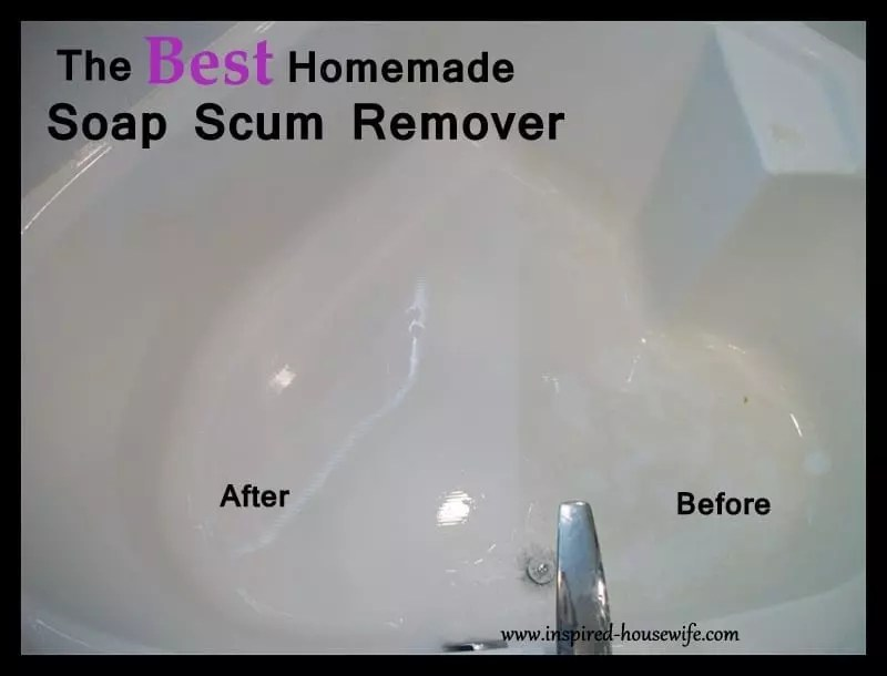 The Best Bathroom Homemade Cleaner Scum Remover Inspired