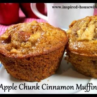 Apple Chunk Cinnamon Muffins