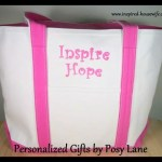 Inspire Hope – Posy Lane – Embroidered Tote Bag Review