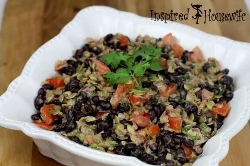 Spicy Chilpotle Black Bean Salad