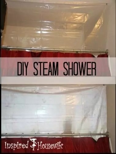 DIY Steam Shower