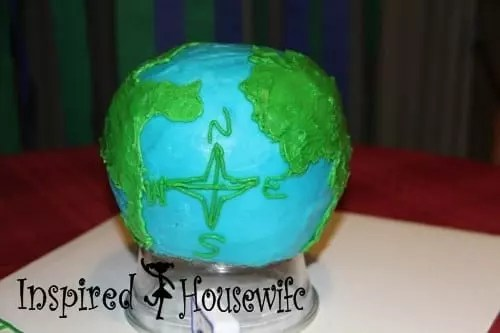 Globe Cake Tutorial