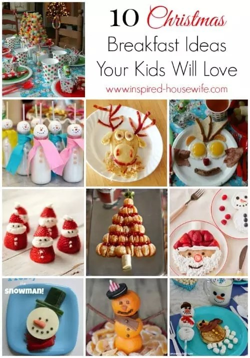 10 Christmas Breakfast Ideas Your Kids Will Love