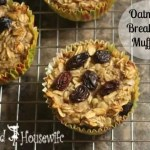 Oatmeal Breakfast Muffins
