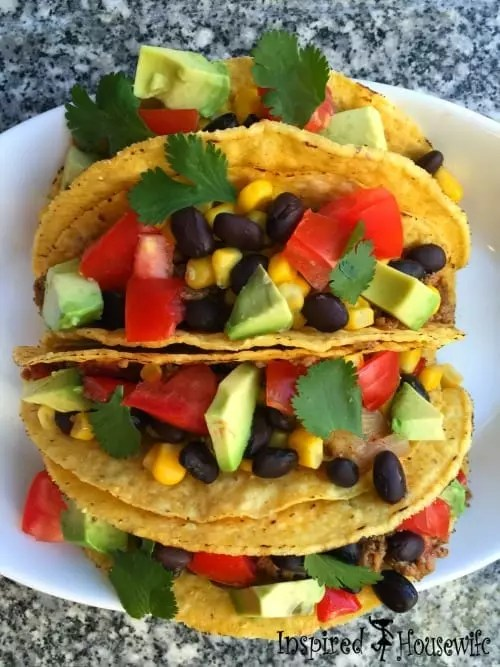 An Easy and Healthy Taco recipe that is a family favorite. It is 21 Day Fix approved and is great for any Taco Tuesday meal plan.