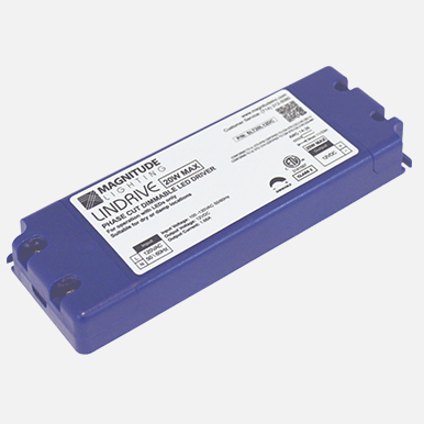 24vdc magnitude lindrive dimmable transformer