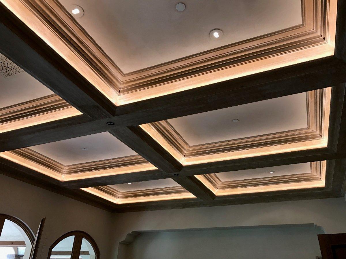 soffit lighting hardwired 24v