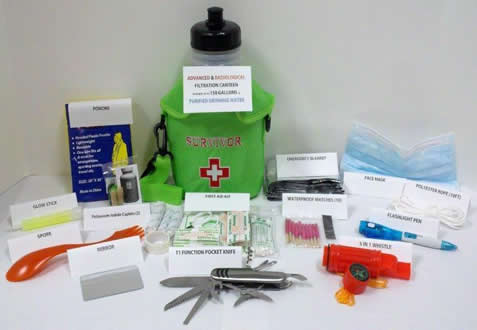 Seychelle Emergency Kit Contents